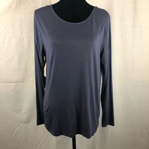 14th & Union Reversible Scoop & Boatneck Top XL